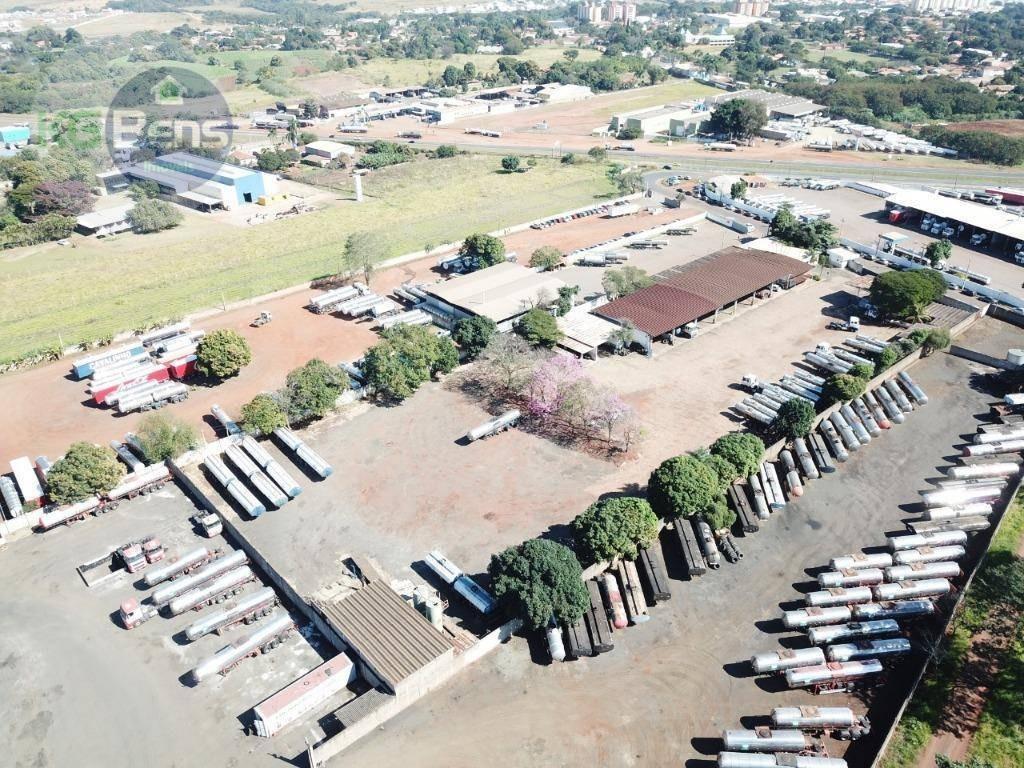 garagem para locação, com 13.700 m² por r$ 30.000/mês - santa terezinha - paulínia/sp - ga0002