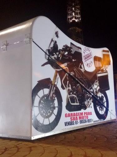 garagem para moto (guarda moto security)