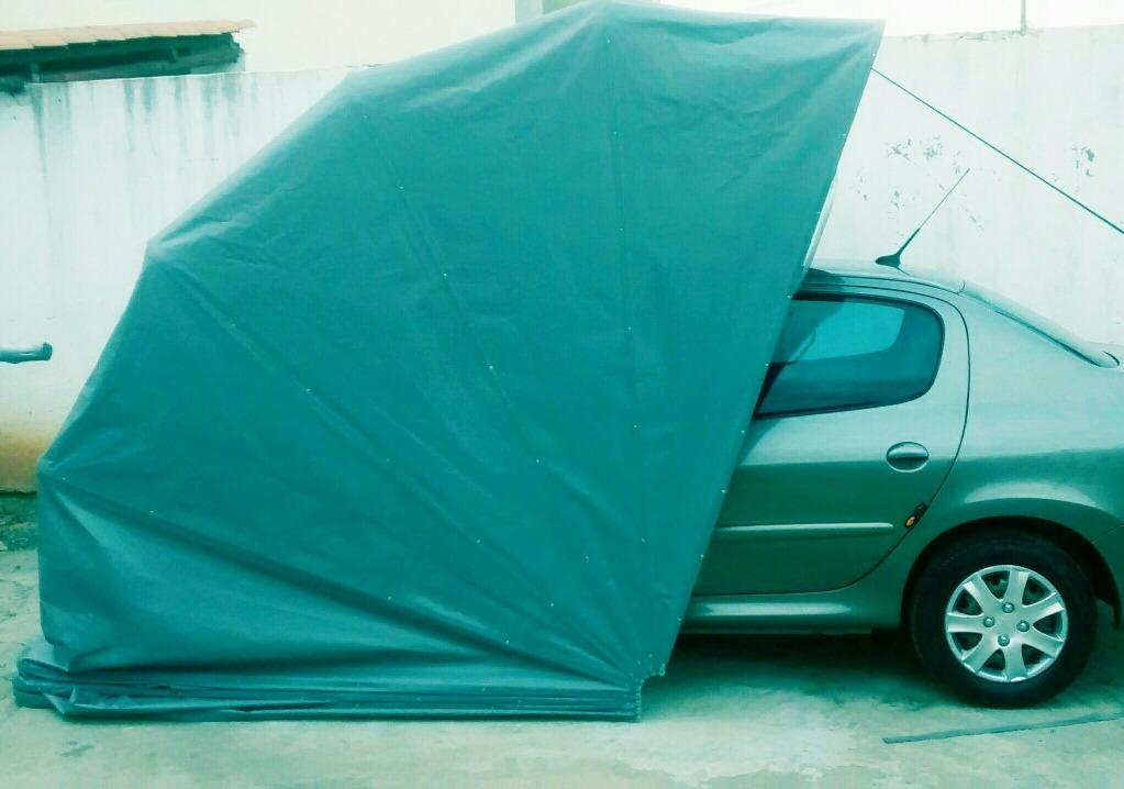 Garagem Retratil Capa Pr Carro Cobertura Para Carro R