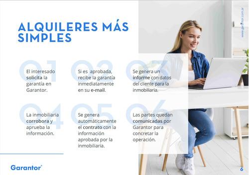 garantía de alquiler 100% online - garantor