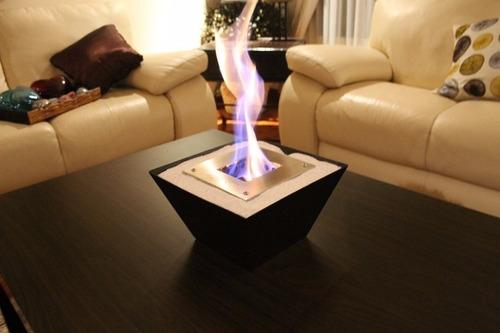 garantía de por vida. chimenea de etanol elementary fire.