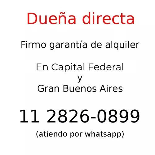 garantia para alquileres garante propietario dueña directa