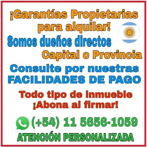 garantia propietaria  para alquilar dueño directo