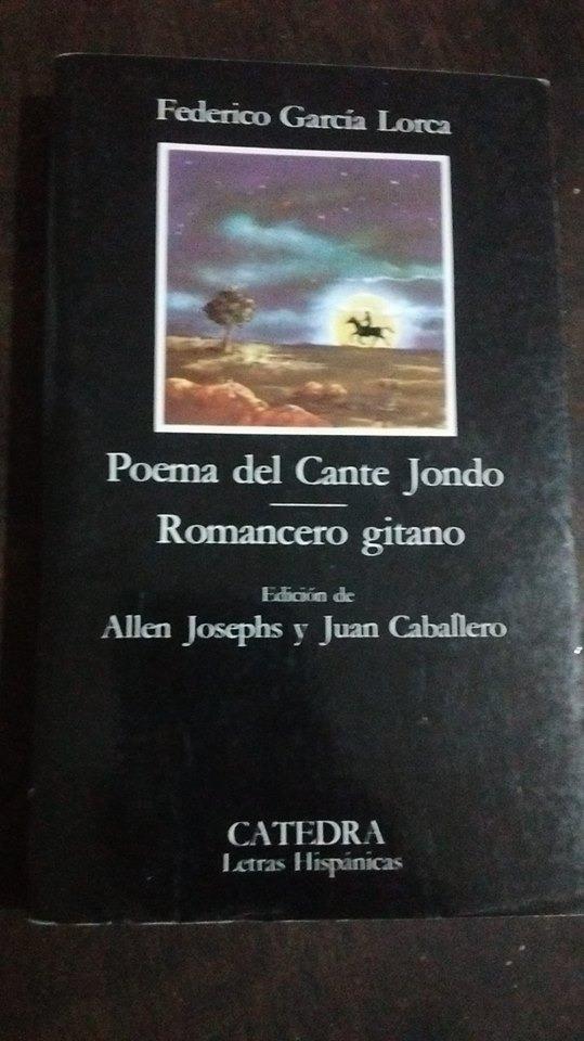 García Lorca Poema Del Cante Jondo Romancero Gitano Cátedra 50000
