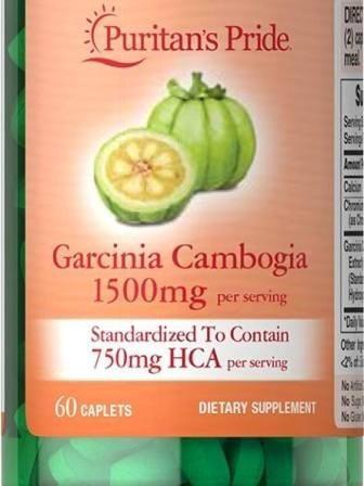 garcinia cambogia extracto 1500 mg 60 tabletas - oferta
