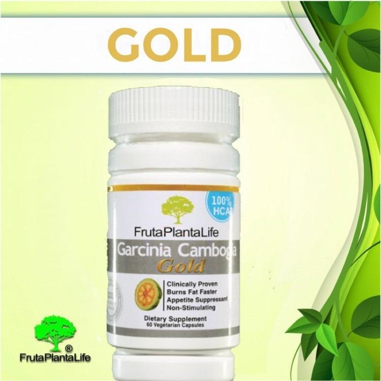 Garcinia Cambogia Gold Fruta Planta Life 30 Caps Original R