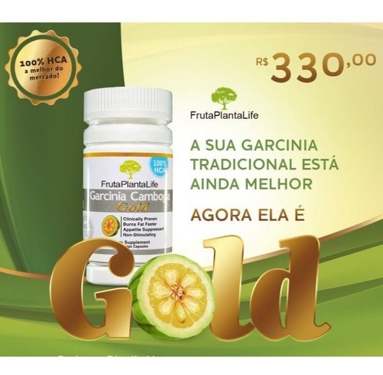 Garcinia Cambogia Gold Fruta Planta Life 60 Caps Original R