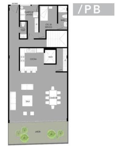 garden house 4 en pre-venta horacio, polanco