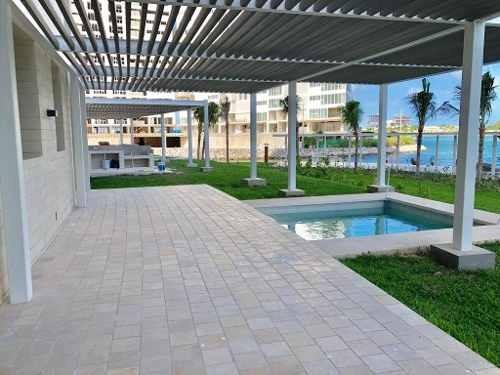 garden house  aria puerto cancun 3 recamaras vista al mar
