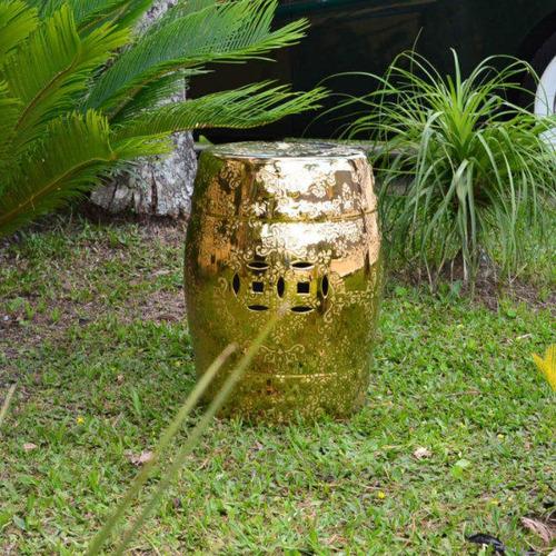 garden seat sakai rivatti dourado ce