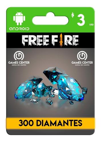 garena free fire 300 diamantes android - global