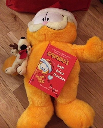 6eda20e7acd93 Garfield 25th Anniversary Limited Ed. Peluche De Navidad De