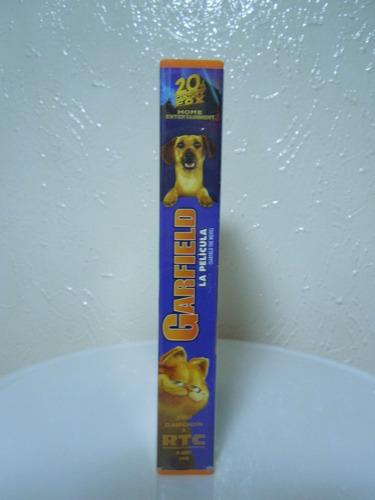 garfield   la película   vhs películas infantiles, original