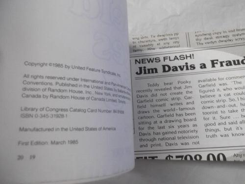 garfield makes it big book 10 jim davies en ingles comics