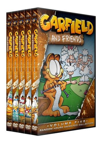 garfield y sus amigos coleccion  dvd latino/ingles subt esp