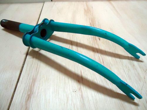 garfo antigo p/ bicicleta aro 14 e 16 sem uso
