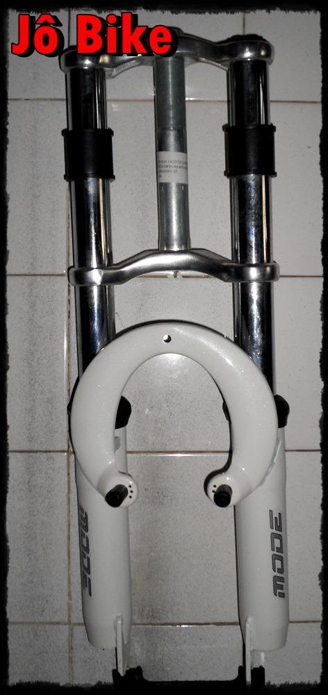 garfo suspensão bicicleta aro 20 mode dh gordo jô bike. Carregando zoom. f1a13901d9e