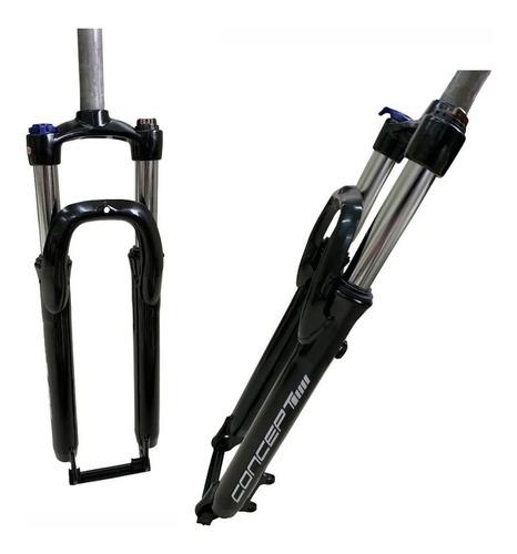 garfo suspensão mtb 29 rad7 concept c/ trava ombro alumínio
