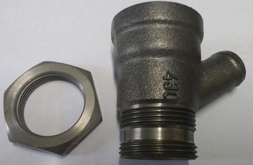 gargalo motor mwm 229 / 4 ou 6 retorno oleo turbo