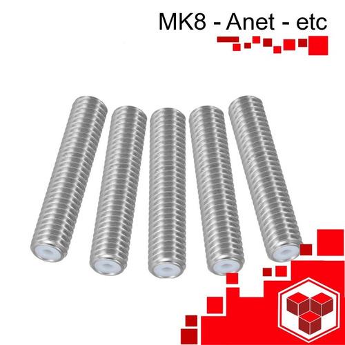 garganta boquilla 1.75mm tubo teflón impresora 3d mk8 anet