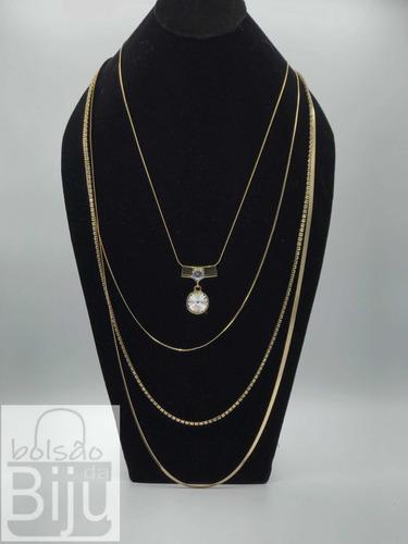 gargantilha bijuteria colar