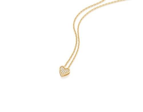 gargantilha fio cartier tendo coração rommanel 531549
