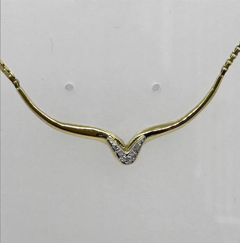 gargantilha ouro joias colar