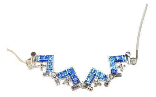 gargantilha/colar/corrente com pingente cruz aberta /fechada