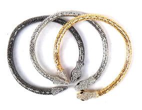 oficial estilo clásico comprando ahora Gargantilla Choker Collar De Serpiente