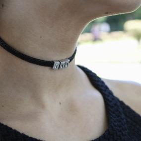 b28e46c5e02e Collar De Plata Y Piedras Negras - Joyas y Bijouterie en Mercado ...