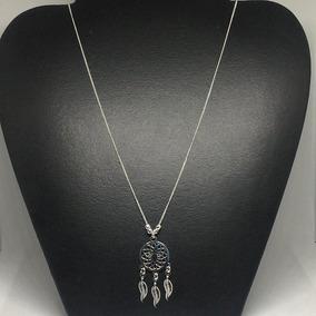 24232860697a Gargantilla Collar Atrapa Sueños De Plata Ley 925 Cl05