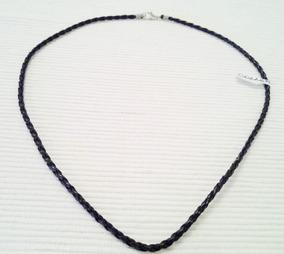19d1c221bd75 Cadena Collar De Tiento Cuero - Cadenas y Collares Eco cuero en ...