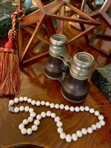 gargantilla perlas de cultivo blanco barroco 8mm 23 cm