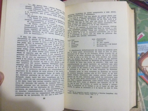 gargantúa y pentagrel. f. rabelais. bruguera, méxico, 1977