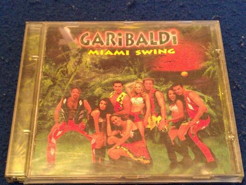 garibaldi cd miami swing de 1996 con booklet 1a edicion
