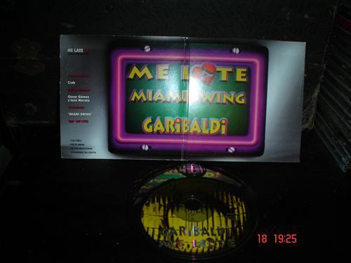 garibaldi - cd  single  - me late  miami swing bfn