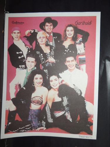 garibaldi cromo a color de la prensa.90's