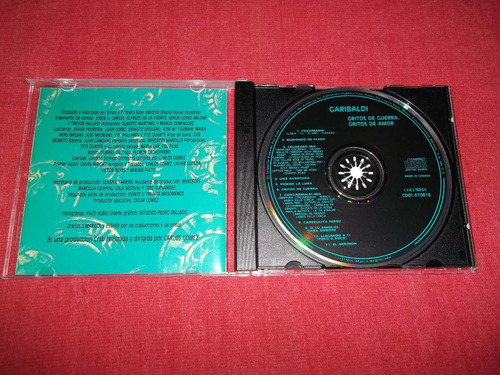 garibaldi - gritos de guerra y amor cd nac ed 1993 mdisk