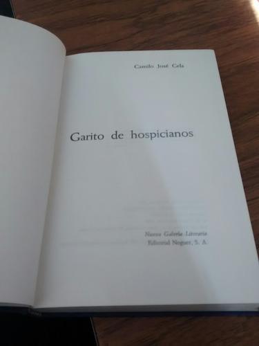 garito de hospicianos - camilo josé cela