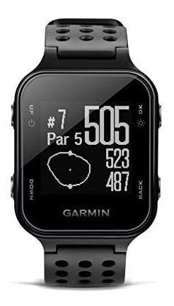 garmin approach s20, reloj de golf, color negro, modelo bas