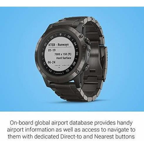 garmin d2 delta gps reloj piloto incluye funciones de reloj