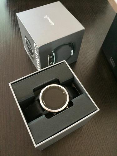 garmin fenix 5s silver - black band ( nuevo )