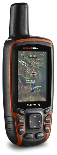 garmin gpsmap 64s calculo de area brujula alta sensibilidad