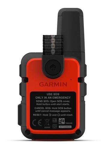 garmin inreach mini gps portatil negro y naranja