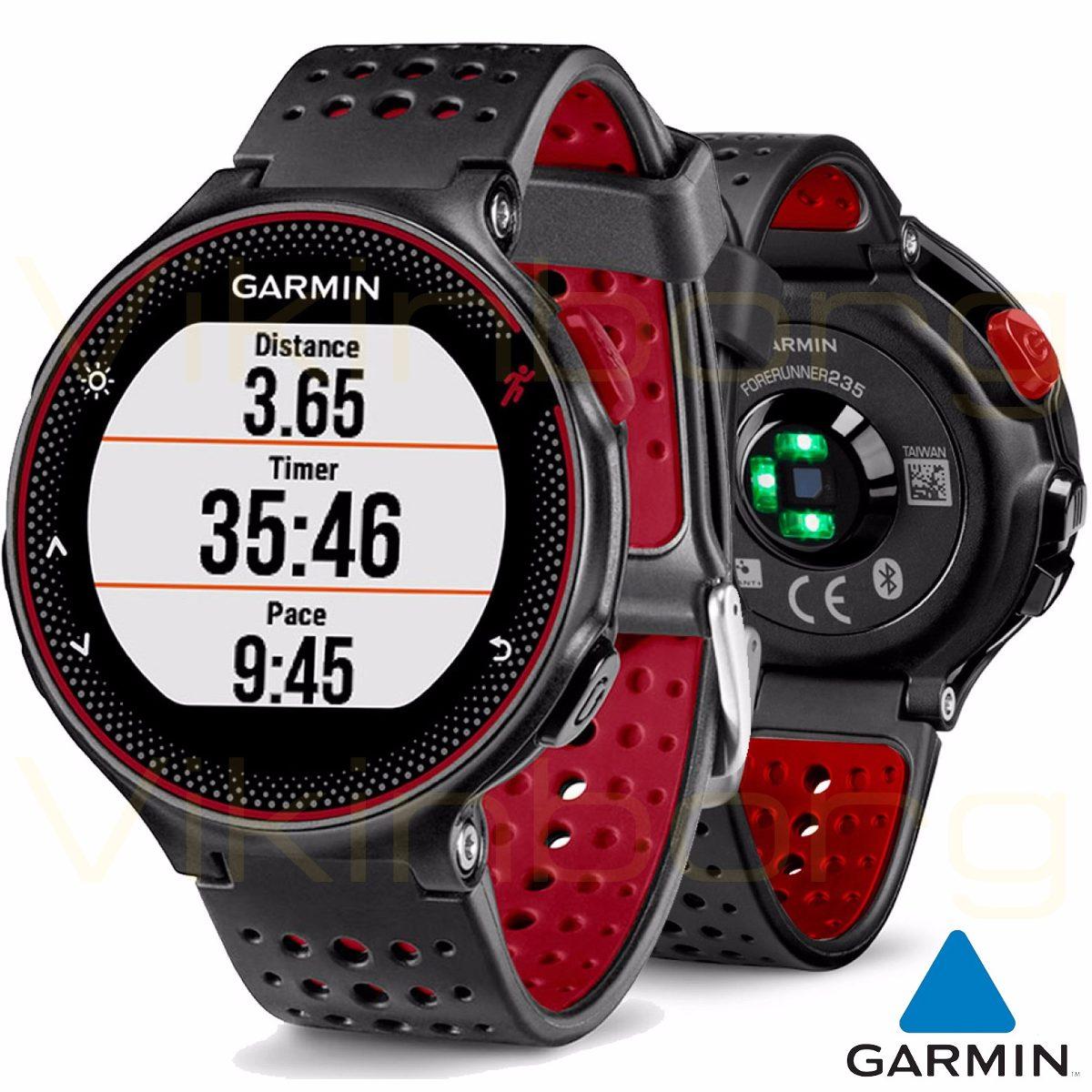 3ac50a150b garmin reloj forerunner 235 hrm cardio running marsala red. Cargando zoom.