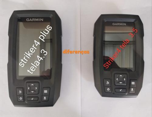 garmin striker 4 plusgps sonar transducer+portugues+nfe
