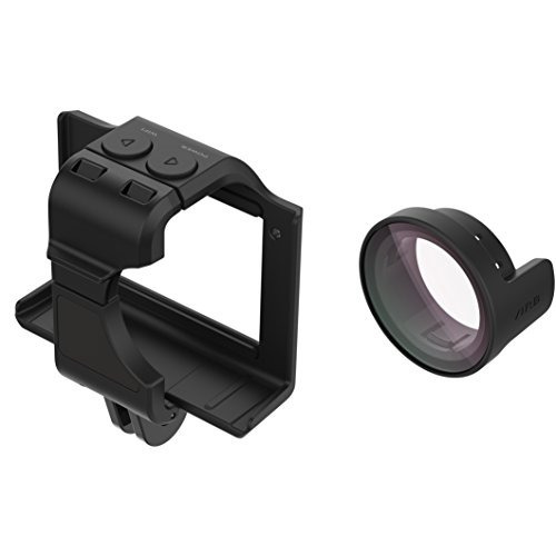 garmin virb ultra cage + lente de protección