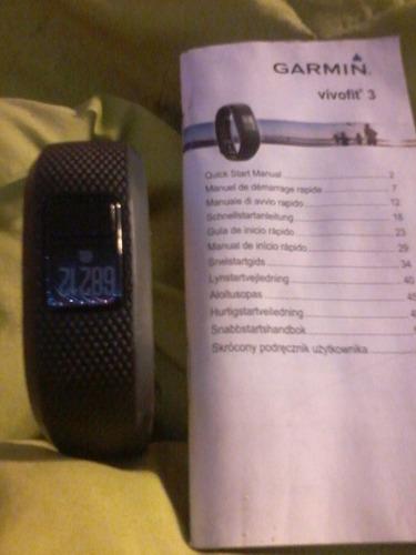 garmin vivofit 3 control de actividad, en forma regular sin