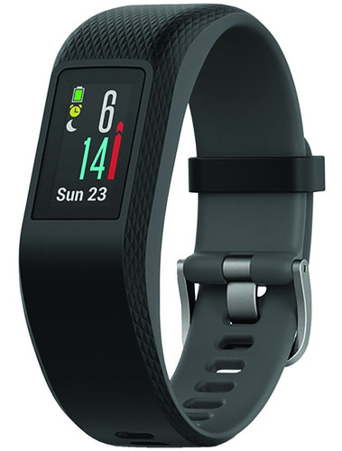garmin vivosport band activity tracker, gps + frec cardiaca.