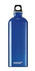garrafa academia de alumínio dark blue (600ml) - sigg